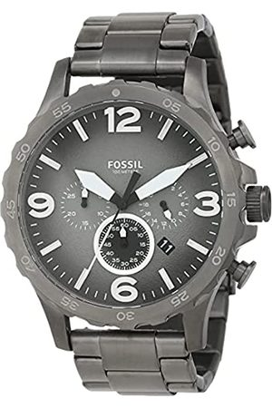 Fossil Hombre Relojes - Reloj Cronógrafo para Hombre de Cuarzo con Correa en Acero Inoxidable JR1437