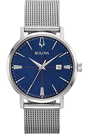 Bulova Hombre Relojes - Reloj Analógico para Hombre de Cuarzo con Correa en Acero Inoxidable 96B289