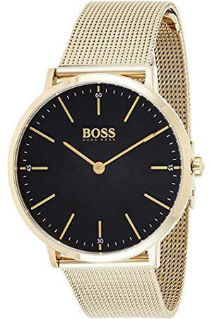 Hugo Boss Hombre Relojes - Reloj Analógico para Hombre de Cuarzo con Correa en Acero Inoxidable 1513735
