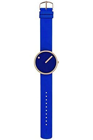 Rosendahl Relojes - Reloj Analógico para Unisex de Cuarzo con Correa en Silicona 1010398710