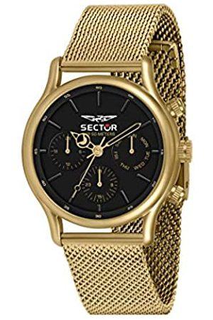 Sector No Limits Hombre Relojes - Reloj Analógico para Hombre de Cuarzo con Correa en Acero Inoxidable R3253517016