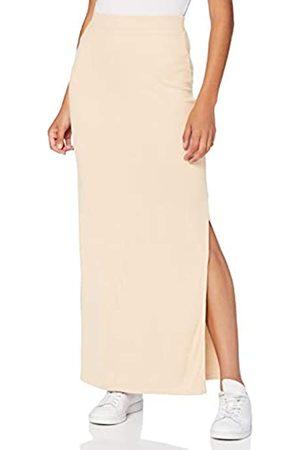 MERAKI Marca Amazon - Falda Maxi Slim Fit Mujer, (Light Pink), 46