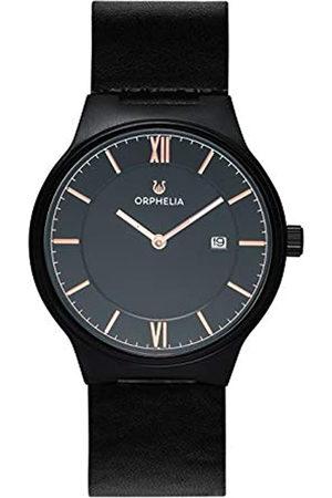 ORPHELIA Hombre Relojes - Reloj Analógico para Hombre de Cuarzo con Correa en Cuero OR61805