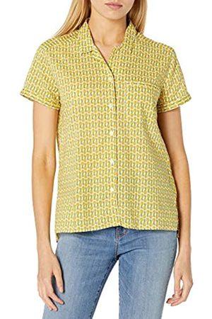 Goodthreads Camisa de Campamento de algodón Dobby Shirts 36-38