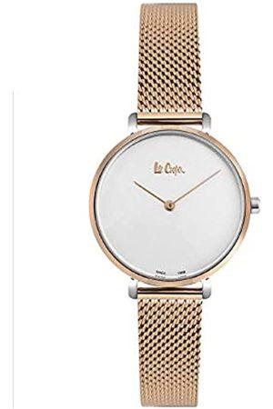 Lee Cooper Reloj Analógico para Mujer de Cuarzo con Correa en Acero LC06948