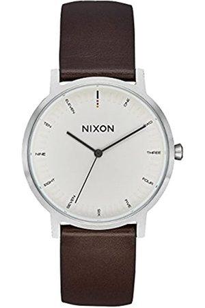 Nixon Reloj Analógico para Hombre de Cuarzo con Correa en Acero Inoxidable A1199-104-00