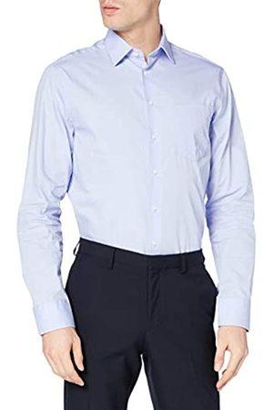 Redford Hombre Casual - Camisa Dublin Hombre, (bleu)