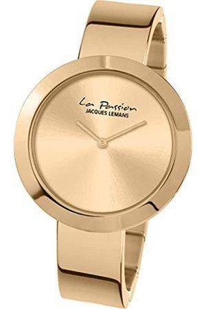 Jacques Lemans Mujer Relojes - La Passion LP-113G – Reloj de Pulsera analógico para Mujer