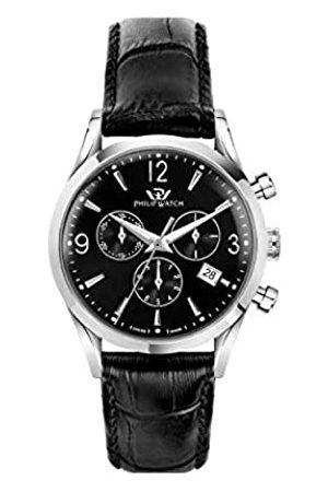 Philip Watch Hombre Relojes - Reloj Analógico para Hombre de Cuarzo con Correa en Acero Inoxidable R8271680002