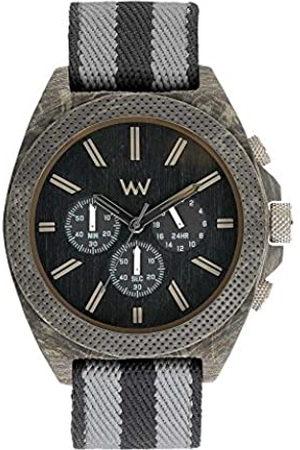 WeWood Hombre Relojes - RelojCronógrafoparaHombredeCuarzoconCorreaenTelaWW56001