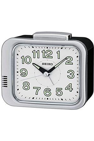 Seiko Relojes - Unisex Reloj Despertador Esfera Analógica Pantalla y plástico Blanco qhk028s