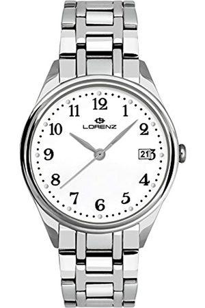 Lorenz Hombre Relojes - RelojAnalógicoparaHombredeCuarzoconCorreaenAceroInoxidable027161AA