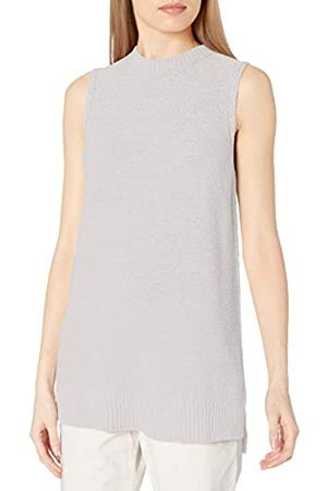 Daily Ritual Mujer Jerséis y suéteres - Soft Cotton Tape Yarn Sleeveless Tunic Sweater Suéter