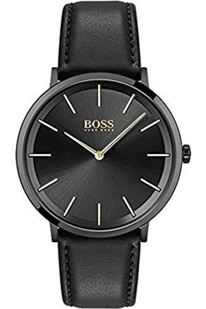 HUGO BOSS Hombre Relojes - HugoBOSSRelojAnalógicoparaHombredeCuarzoconCorreaenPieldeBecerrodeCuero1513830