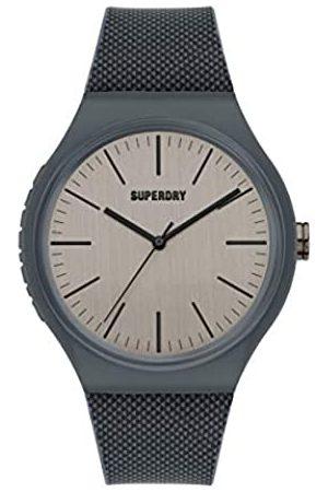 Superdry Reloj Analógico para Hombre de Cuarzo con Correa en Silicona SYG344E