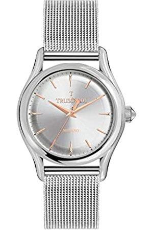 Trussardi Hombre Relojes - RelojAnalógicoparaHombredeCuarzoconCorreaenAceroInoxidableR2453127003