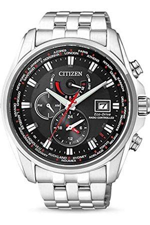 Citizen Hombre Relojes - Reloj Multiesfera para Hombre de Cuarzo con Correa en Acero Inoxidable AT9030-55E