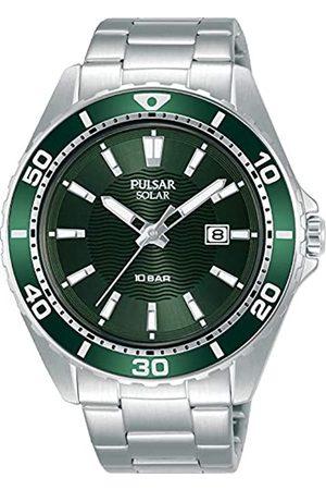 Seiko Hombre Relojes - Pulsar Reloj Analógico para Hombre de Cuarzo con Correa en Metal PX3241X1