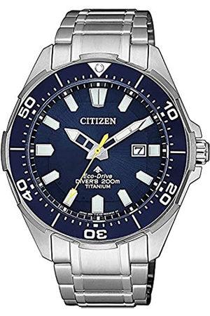 Citizen Hombre Relojes - Reloj Analógico para Hombre de Cuarzo con Correa en Titanio BN0201-88L