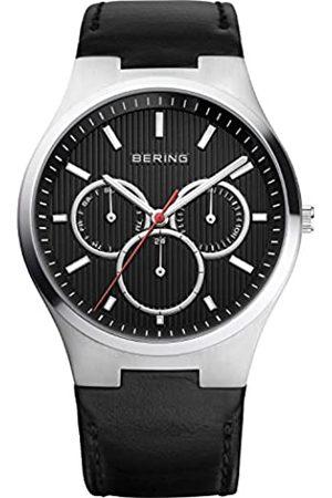 Bering Hombre Relojes - RelojAnalógicoClassicCollectionparaHombredeCuarzoconCorreaenCuero&CristaldeZafiro13841-404