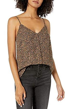 Goodthreads Fluid Twill Button-Front Cami Camiseta