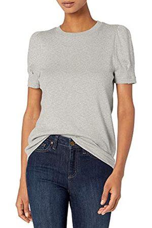 Daily Ritual Marca Amazon - Cotton Modal Stretch Slub Puff Sleeve T-Shirt athletic-shirts