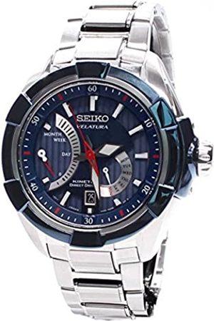 Seiko Hombre Relojes - Reloj de Pulsera XL analógico automático de Acero Inoxidable SRH017P1