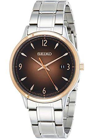 Seiko Hombre Relojes - Reloj Analógico para Hombre de Cuarzo con Correa en Latón 1