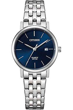 Citizen Mujer Relojes - Reloj Analógico para Mujer de Cuarzo con Correa en Acero Inoxidable EU6090-54A