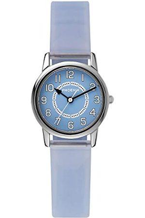 Phoenix PX067453001 - Reloj analógico unisex de cuarzo con correa de goma - sumergible a 30 metros