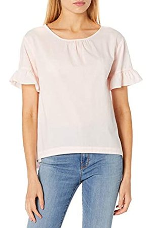Goodthreads Mujer Camisetas y Tops - Cotton Dobby Flutter-Sleeve Woven tee Fashion-t-Shirts M