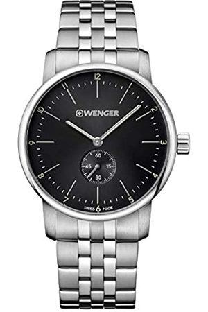 Wenger Reloj Analógico para Unisex de Cuarzo de Acero Inoxidable 01.1741.105