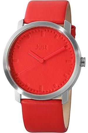 Just Watches Relojes - 48-S9173-RD - Reloj de Pulsera Unisex, Piel