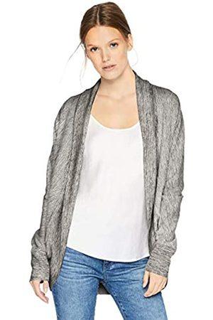 Daily Ritual Terry Cotton and Modal Cocoon Sweatshirt Novelty-Athletic-Sweatshirts, jaspeado (Heather Grey Space Dye)