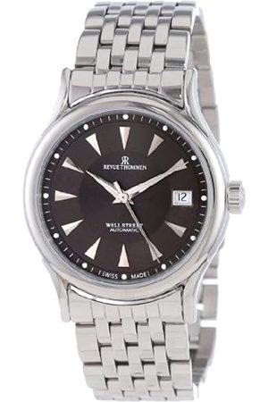 Revue Thommen Hombre Relojes - – Wallstreet – Reloj de Pulsera analógico automático para Hombre Acero Inoxidable 20002.2134