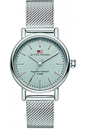 River Woods Mujer Relojes - Reloj Analógico para Mujer de Cuarzo con Correa en Acero Inoxidable RW340012