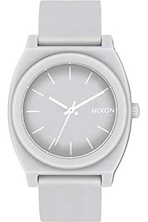 Nixon Reloj Analógico para Hombre de Cuarzo con Correa en PU A119-3012-00