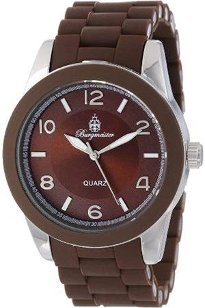 Burgmeister Hombre Relojes - BM902-195 - Reloj analógico de Cuarzo para Hombre con Correa de Silicona