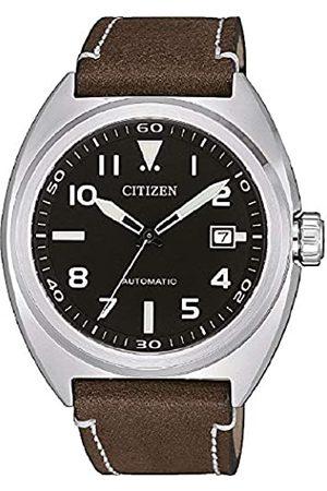 Citizen Hombre Relojes - Reloj Analógico para Hombre de Automático NJ0100-11E