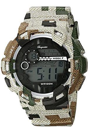 Burgmeister Hombre Relojes - Reloj Digital para Hombre de Cuarzo con Correa en Plástico BM803-027