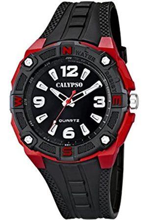 Calypso Hombre Relojes - Reloj Analógico para Hombre de Cuarzo con Correa en Plástico K5634/4