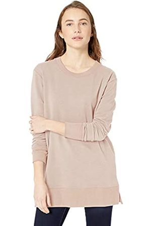 Daily Ritual Mujer Blusas - Terry Cotton and Modal Side-Vent Tunic Shirts