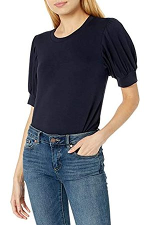 Daily Ritual Mujer Camisetas y Tops - Marca Amazon - Supersoft Terry Puff-Sleeve Top shirts