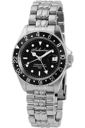 Stolzenberg Hombre Relojes - ST2100280005 - Reloj analógico automático para Hombre con Correa de Acero Inoxidable