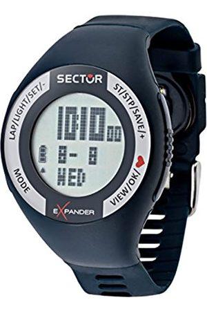 Sector Reloj Digital para Hombre de Cuarzo con Correa en Silicona R3251473002_BLU