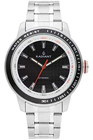 Radiant Reloj analógico para Hombre de . Colección Dax. Reloj con Brazalete y con Esfera Negra. 5ATM. 47mm. Referencia RA494202.