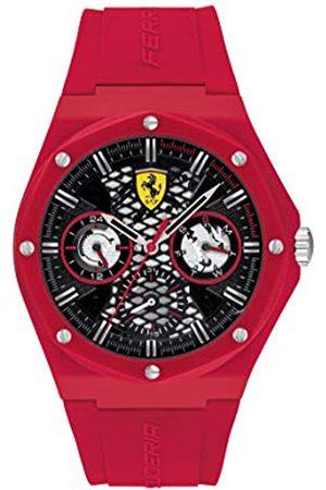 Scuderia Ferrari ScuderiaFerrariRelojCosaanálogaparadelosHombresdeCuarzoconCorreaenSilicona830786