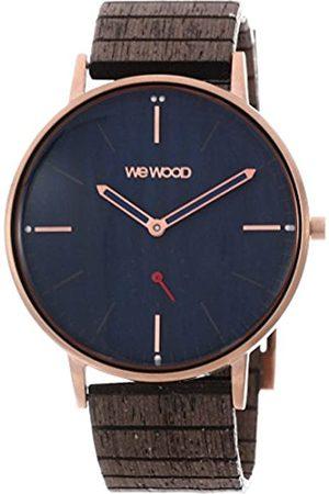 WeWood Reloj Analógico para Hombre de Cuarzo con Correa en Madera WW63003