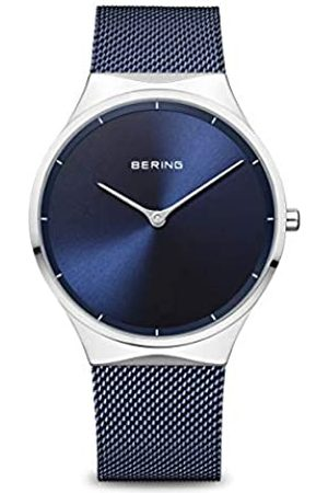 Bering Reloj Analógico para Unisex Adultos de Cuarzo con Correa en Acero Inoxidable 12138-307