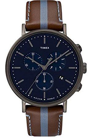 Timex RelojCronógrafoparaHombredeCuarzoconCorreaenCueroTW2R37700